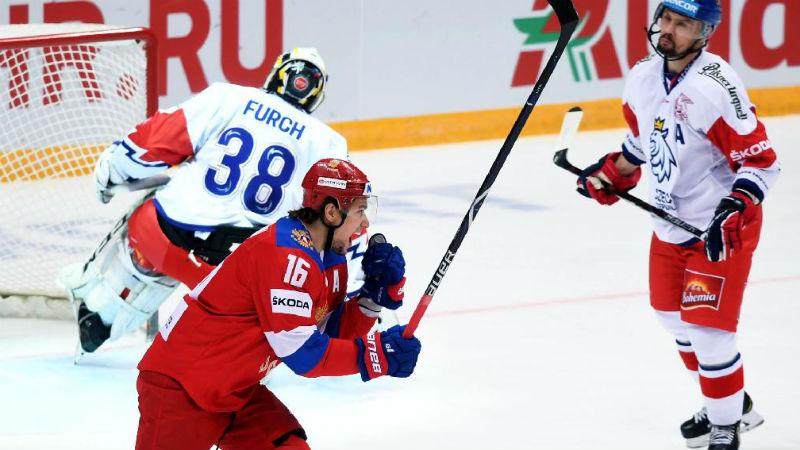 ONLINE: Čeští hokejisté na Rusy nestačí, sborná už vede 6:1