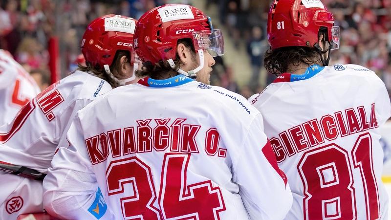 Hokej v číslech: Dominance Třince i aktivní bratři. Co přinesl třetí zápas?