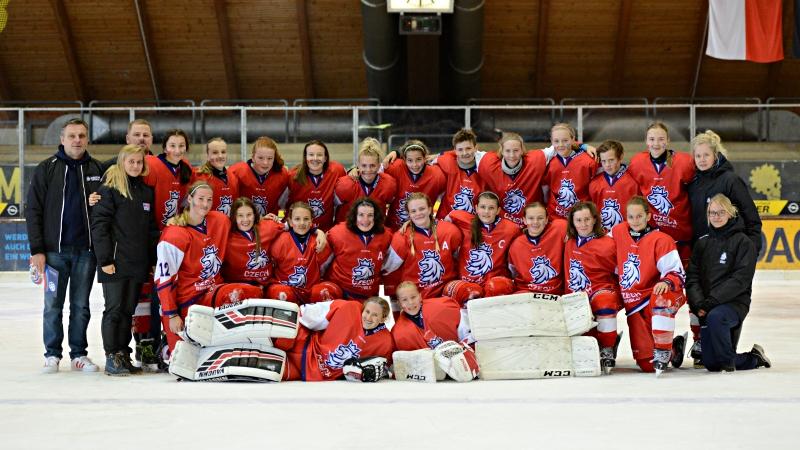 Start s čistým štítem: Mladé hokejistky dovezly dvě výhry s nulou!