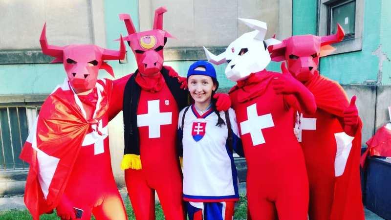 MS na Instagramu: hokejové memes a kostýmy fanoušků