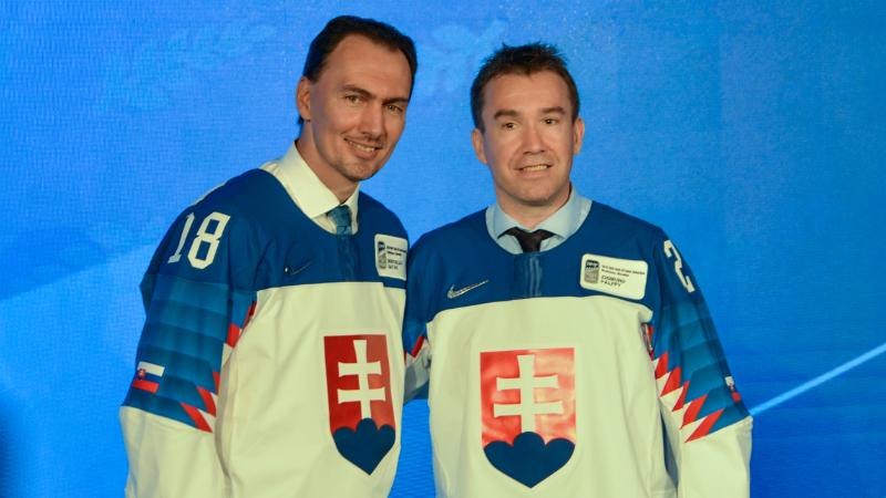 Pocta pro slovenské legendy: Šatan a Pálffy v Síni slávy IIHF