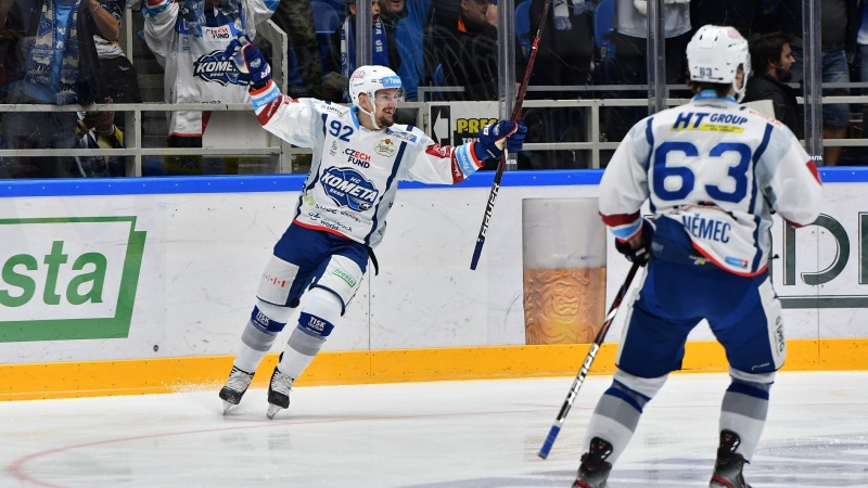 Liberec je novým lídrem! Derby pro Kometu a Hradec Králové